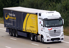 Mercedes Actros new look GL12 ODA (gylesnikki) Tags: white truck group ltd artic ch mp4 2012 hauliers charlesgee