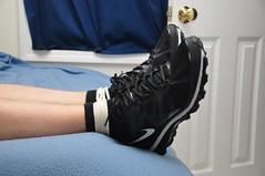 DSC_9186 (jakewolf21) Tags: max socks air under bondage rope sneakers nike tied armour 2012
