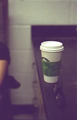 starbucks and glasses (Atomic Citrocity) Tags: film coffee glasses lab minolta days starbucks