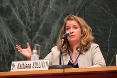 Disarmament expert Kathleen Sullivan