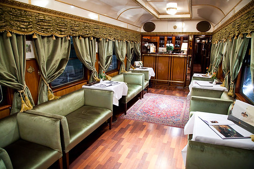 Majestic Imperator Luxury Train - Salon 1