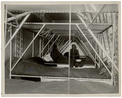 Photograph of Crew Bunks of a Dirigible, ca. 1933 (The U.S. National Archives) Tags: aircraft aviation zeppelin sailors airship sailor usnavy usn goodyear bunk dirigible lighterthanair bunks navalaviation unitedstatesnavy goodyearzeppelin ussakron usnationalarchives zrs4 ussakronzrs4 nara:arcid=6821377 goodyearzeppelincorporation