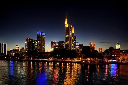 Frankfurt am Main - Frankfurter Skyline Mainhattan