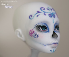 Sucre (Amber-Honey) Tags: monster skull amber high mod doll ooak cam ghost sugar honey create custom catrina mattel calavera repaint
