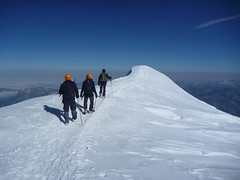 Descente du Mont Blanc (benontherun.com) Tags: france alps alpes mountaineering francia ascension montblanc alpinisme ucpa