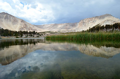 (Kynia1013) Tags: lake mountains reflection beautiful landscape nikon peace lakes peaceful calm mount cottonwood sierras langely d5100
