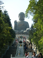 On the way up (oldandsolo) Tags: china hk hongkong buddhism bigbuddha lantauisland polinmonastery chinesetemple chineseculture ngongping tiantanbuddha ngongpingbuddha buddhistfaith chinesereligiousshrine largestseatedbronzebuddha
