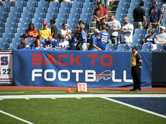 Back to Football in Buffalo (MattBritt00) Tags: ny newyork sports football buffalo buffalobills bills stadium nfl afc americanfootball orchardpark footballstadium ralphwilsonstadium nationalfootballleague americanfootballconference backtofootball