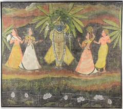 77. Large Antique Indian Painting