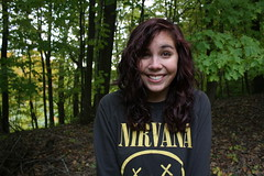 Storm Young's senior pictures! (melmarie99) Tags: woman girl woods nirvana seniorpicture seniorphoto
