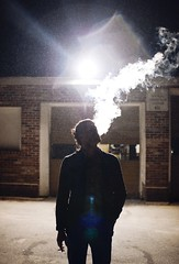 (ar'mita) Tags: street light boy summer portrait people canada man streets art love colors beauty face look fashion modern night dark fun happy photography design photo scary alley faces smoke style smoking story portraiture editorial bold thriller