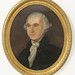 196. Folky Oil Painting of George Washington
