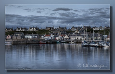 Harbour Dusk (Bill McKenzie / bmphoto) Tags: sunset canon boats scotland fishing harbour calm best highland moray findochty visitscotland bmphoto licenceavailable