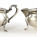 Lot 2025.  Sterling Silver Creamer & Sugar