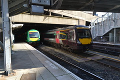 London Midland and Cross Country Class 170s at Birmingham New Street Station (2) (CrazyRupes) Tags: uk london train railway class crosscountry midland 170 bombardier turbostar dmu dieselmultipleunit londonmidland 170523 170633