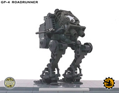 GP4_ROADRUNNER_2 (Cooper Works 70) Tags: lego military wwii ww2 decals mech