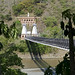 Il Puente de Occidente, lungo 291m, è stato uno dei primi ponti sospesi costruiti dell'intero continente americano