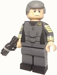 Halo 4 - Captain Andrew Del Rio (MGF Customs/Reviews) Tags: lego infinity chief 4 halo master requiem cortana unsc promethean