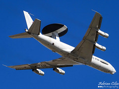 Luxembourg-NATO --- Boeing E-3A Sentry (B707-300) --- LX-N90448 (Drinu C) Tags: plane aircraft military sony malta airshow boeing 707 dsc mla lmml e3asentry lxn90448 hx100v luxembourgnato adrianciliaphotography