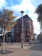 Saarbrücken - Reichsstraße (Añelo de la Krotsche) Tags: saarbrücken terminus reichsstrase