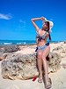 saeko_k-20101024-09 (koichitakeshita) Tags: bathingsuit beach bikini f06b missshonan kurimajima okinawa portrait swimsuit nagamahama 来間島 長間浜 沖縄