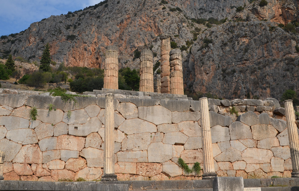 The World's Best Photos of delphi and wall - Flickr Hive Mind
