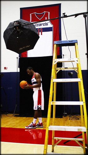 John Wall and ball