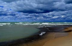 Warren Dunes State Park (Michigan Transplant) Tags: water clouds lakemichigan warrendunes michigansee nikond5100