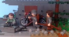 Ghost Division 1942 (-Aldin.) Tags: world two brick army war lego ghost german division 7th weapons panzer mg34 mp40 kar98 brickarms whermacht