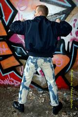 self1092 (Tommy Berlin) Tags: men ass boots butt jeans alpha bomber ars levis bleached