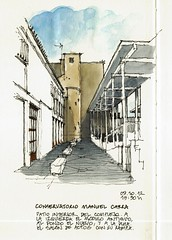 Mlaga, music school (Luis_Ruiz) Tags: school architecture court sketch arquitectura drawing patio manuel dibujo malaga mlaga carra conservatorio urbansketchers stillmanbirn