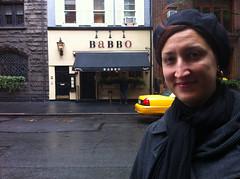 Jessica at Babbo