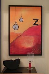 Zeit (Renate Karle) Tags: malerei acryl collage