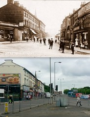 St Oswald's Street, Old Swan, 1900s and 2016 (Keithjones84) Tags: liverpool merseyside thenandnow architecture rephotography history oldliverpool