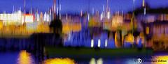Vertical Blur Oil (dodo-12-37) Tags: victoria canada bc ile de vancouver plage bernache panoramique oiseau cerf volant olympic mountain bouchart garden reflet fleurs arbre fontaine