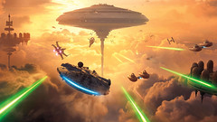 Update and Question. (JAlexanderHutchins) Tags: star wasrs battlefront ships bespin cloud city