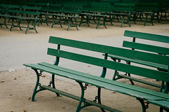 Missing You. (lau7171) Tags: benches parks empty emptiness green outdoors seating canon