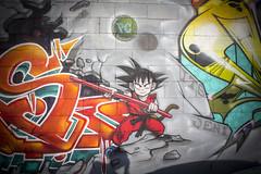 DBZ (Rodosaw) Tags: documentation of culture chicago graffiti photography street art subculture lurrkgod dragon ball z dbz leks