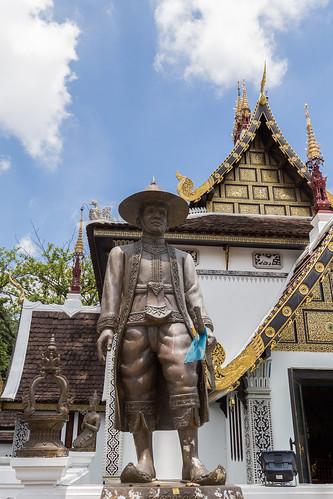 2016/07/25 11h30 Sao Intakhin (Wat Chedi Luang)