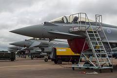 Eurofighter Typhoon FGR4 - 1 (NickJ 1972) Tags: raf fairford royalinternationalairtattoo riat 2016 aviation eurofighter ef2000 typhoon fgr4 zk356 bae