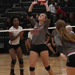 CNHS Varsity Volleyball vs WHS 9-7-2016 Courtesy