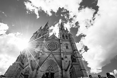 DSC01305 (Damir Govorcin Photography) Tags: st marys cathedral sydney australian history catholic church sun clouds zeiss 1635mm sony a7ii architecture wow