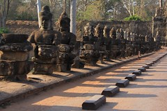 Angkor Wat - Phmon Penh, Cambodia (cattan2011) Tags: buddha statues wall cambodia travelbligger ancient landscape traveltuesday travel phnompenh