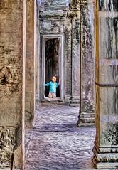 Through the narrow gate (Bruno Zaffoni) Tags: angkorwat cambodia hdr