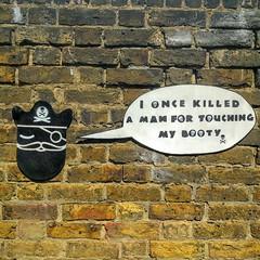 I once killed a man... (id-iom) Tags: aerosolpaint art arts booty brixton day england face graffiti head idiom kill man paint pirate pirateday spray spraypaint stencil street streetart talklikeapirate treasure uk urban vandalism wall