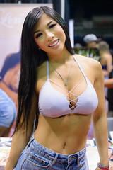 Lexi (Marvin Chandra) Tags: d600 50mm lexivixi model portrait bikini hawaii oahu honolulu carshow 2016 spocom spocomhawaii