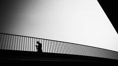The modern life (BWUA Photography) Tags: street bruges modern life black white silhouette nikon