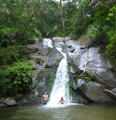 Waterfalls in the Jungle (little_duckie) Tags: minca bonda colombia southamerica finca cacao waterfall cascada jungle