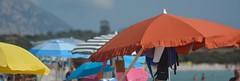 Summer colors (Emanuela Catini) Tags: mare ombrellone colori estate sardegna rosso giallo