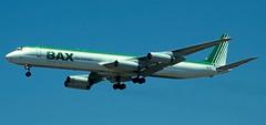 DC-8 | N867BX | LAX | 19990723 (Wally.H) Tags: douglas dc8 n867bx lax klax baxglobal burlingtonairexpress losangeles airport